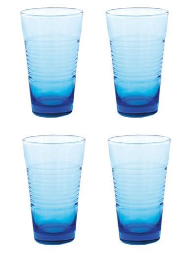 Paşabahçe 420003 Vita 4'Lü Mavi Bardak Mavi